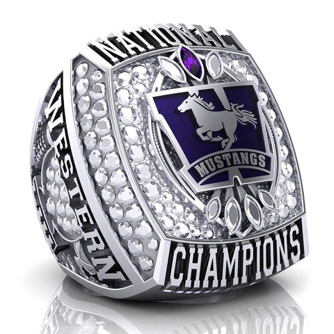 Western Mustangs Championship Paperweight