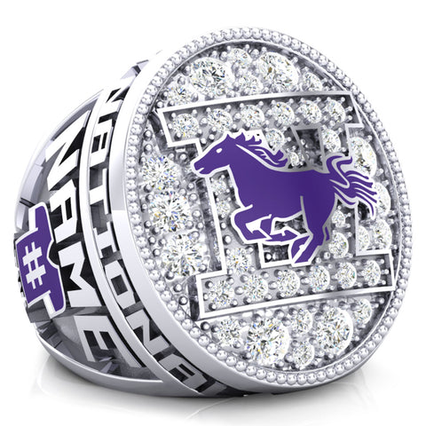 Western Mustangs Championship Ring - Design 2.10