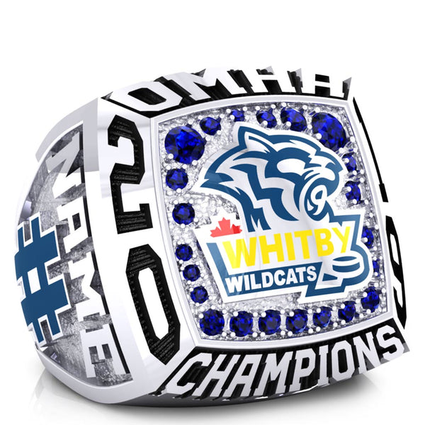 Whitby Wildcats Minor Midget AAA Ring - Design 1.6 (XL)