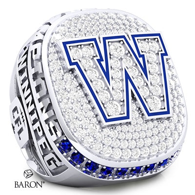 Winnipeg Blue Bombers Championship Replica Ring (Manitoba Chamber of Commerce)