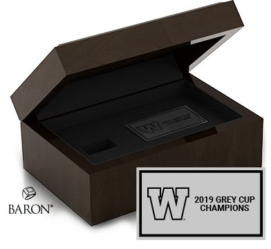 Winnipeg Blue Bombers Championship Ring Box (Manitoba Chamber of Commerce)