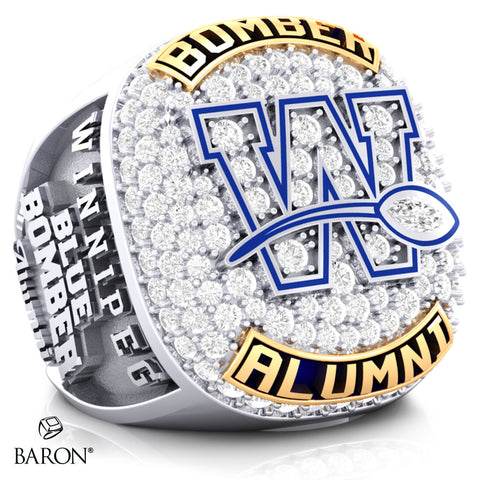 Winnipeg Blue Bomber Alumni Ring - Cheer- Design 1.3 (2XL)