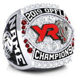 York Lions - OPFL - Varsity Ring - Design 2.1