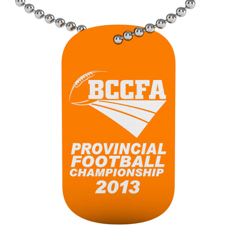 BCCFA Dog Tag