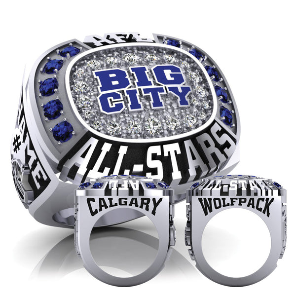 football ring sport championship fantasy solid rings product souvenir