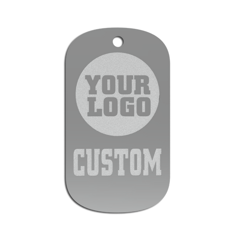 Championship Dog Tag - Custom Logo