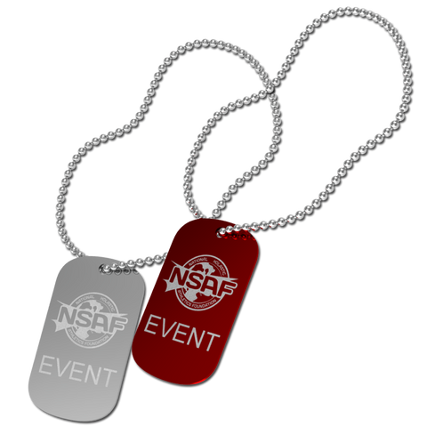 NSAF Champion Dog Tag
