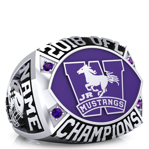 London Jr. Mustangs - OFL Ring