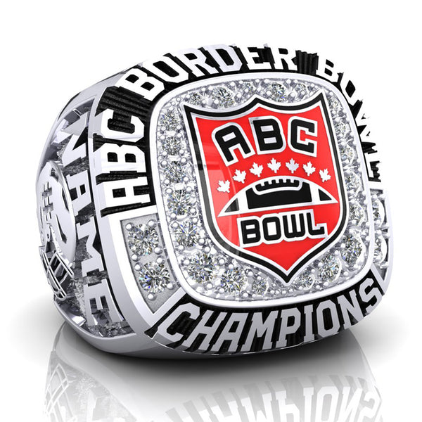 2018 ABC Border Bowl Championship Ring