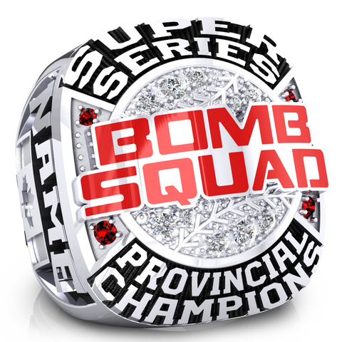 Miken Bomb Squad Ring - Design 1