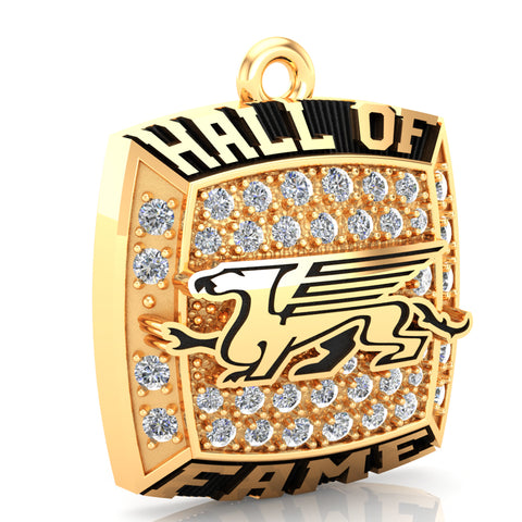 Guelph Gryphons Hall of Fame Pendant - D.3.4