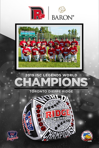 Dieppe Ridge Men's Fastball Poster