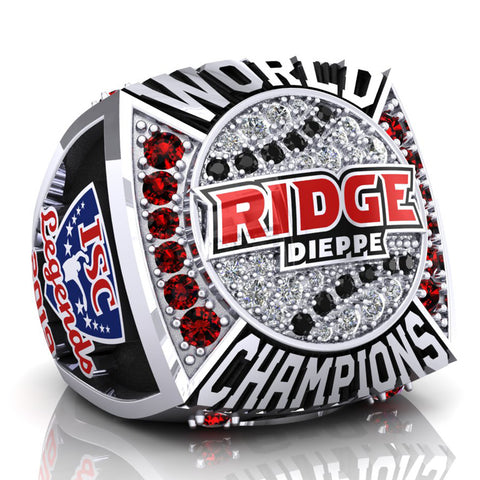 Dieppe Ridge Men's Fastball Ring (3XL) - Design 2.5
