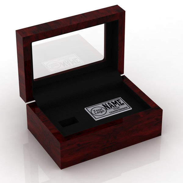 NFC Hall of Fame Wooden Ring Box