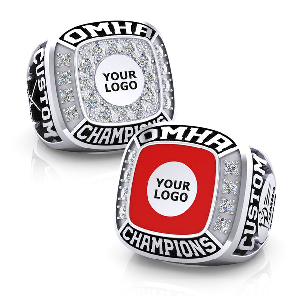 OMHA Championship Ring with Custom Logo