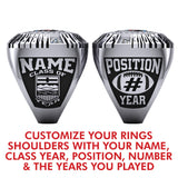 Alberta Football League - Hall of Fame Ring
