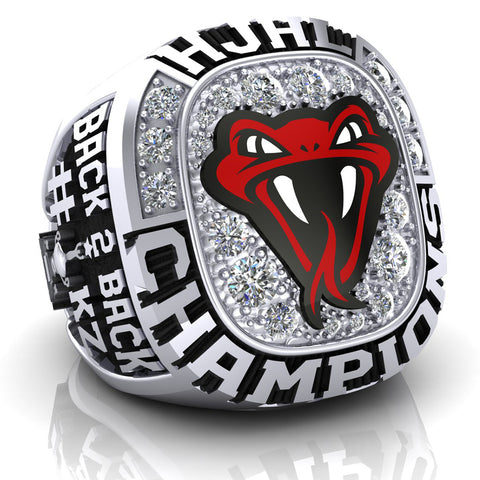 Red Deer Vipers Ring - Design 1.8