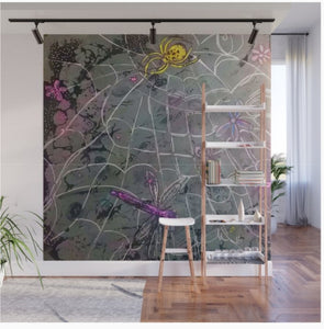 New ! Cosmic Dream weaver wall mural panel (hand emebelished  reproduction)