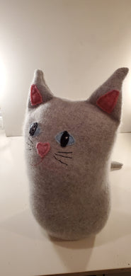 cat pillow l5 inch tall