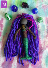 Load image into Gallery viewer, Mermaids  fiber art dolls