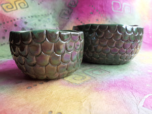 Dragon Scale Nesting Bowls:  set of 8