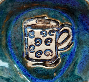 Cobalt Blue Coffee Cup Spoonrest