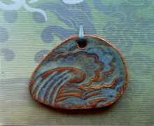 Load image into Gallery viewer, Stormy Seas Pendant