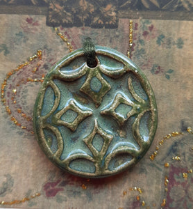 Emerald Green Pendant