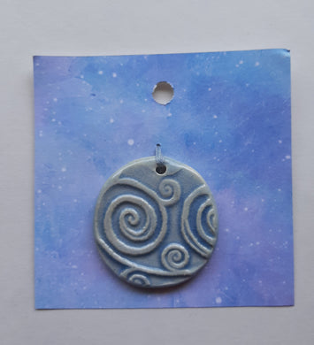 Spirals In The Sky Pendant