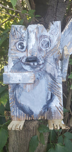 squirrel wood scrap critter