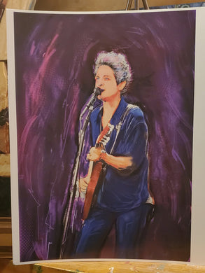 Lindsey Buckingham   digital  art 8x10 print signed