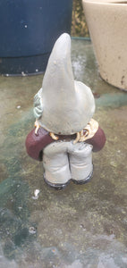 another little gnomey homey 3 inch tall handmade ceramic scuplture
