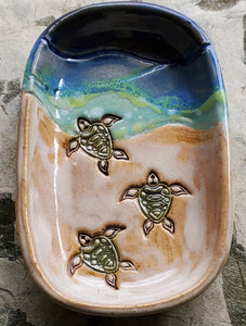 sea turtle soap dish