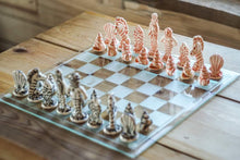 Load image into Gallery viewer, Ceramic chess set