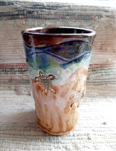 Load image into Gallery viewer, sea turtle mugs cups and tumblers