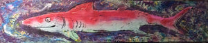 Pink shark 4 ft original $400