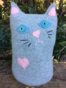 Large Cat Pillow Pals hand made with love by Laurel