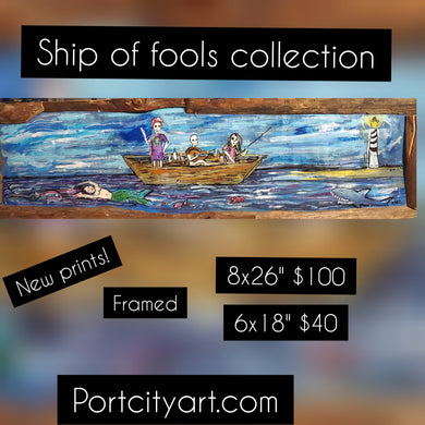 Ship of fools collection : shipwreck salvation