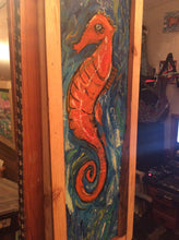 Load image into Gallery viewer, original sea horse 9x 24.5 ""