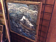 Load image into Gallery viewer, harbor from the heavy seas  original