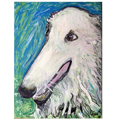 Pet Portrait commission work  order 24x16
