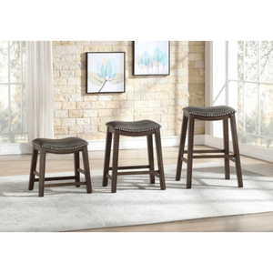 Counter Height Stool Gray