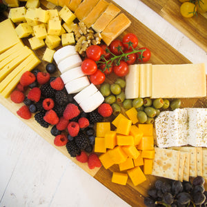 Fruit & Cheese Plate - Titankuwait