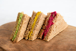 Vegan Finger Sandwiches - Titankuwait