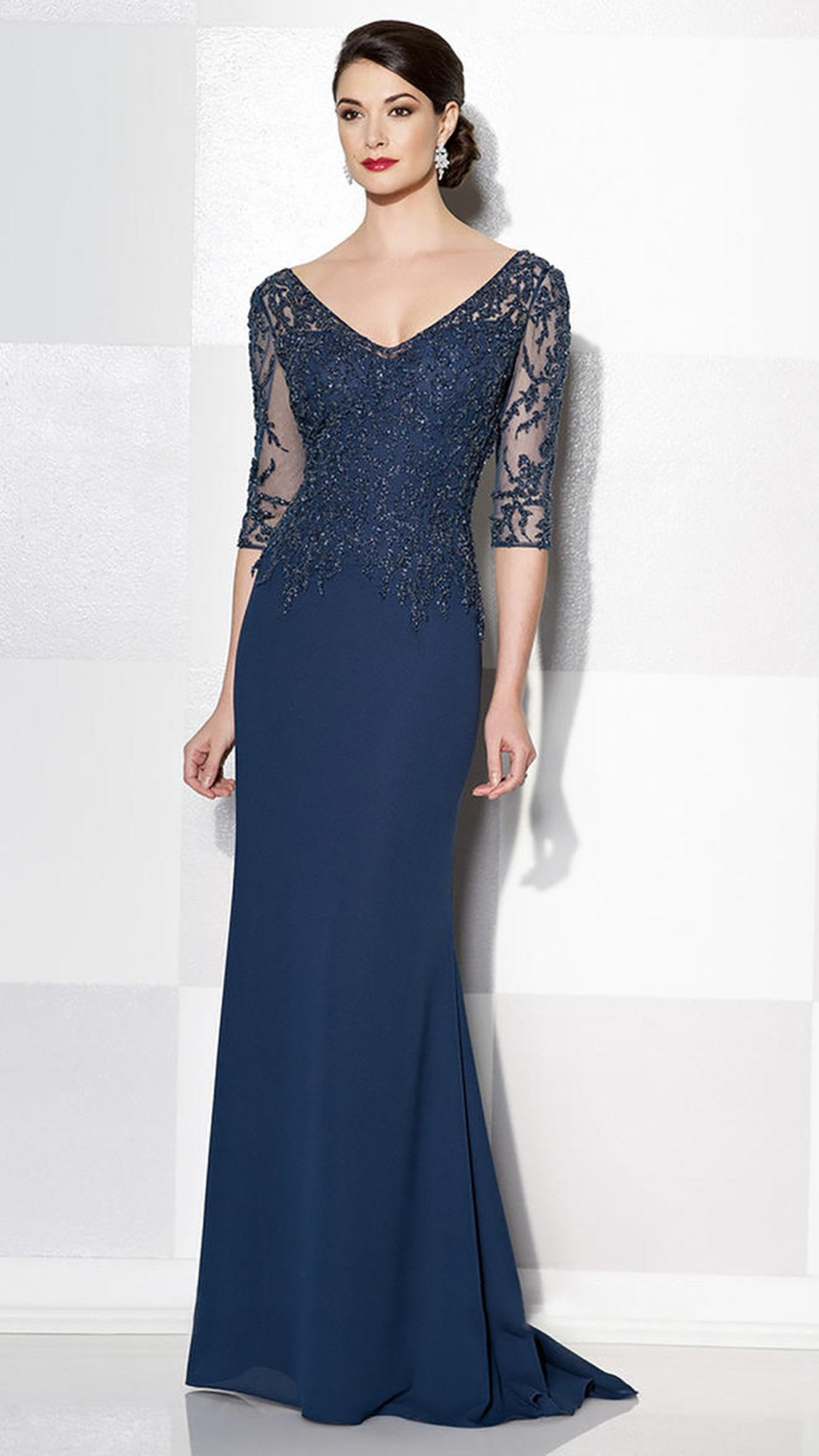 Cameron Blake - 215637 Dress In Navy