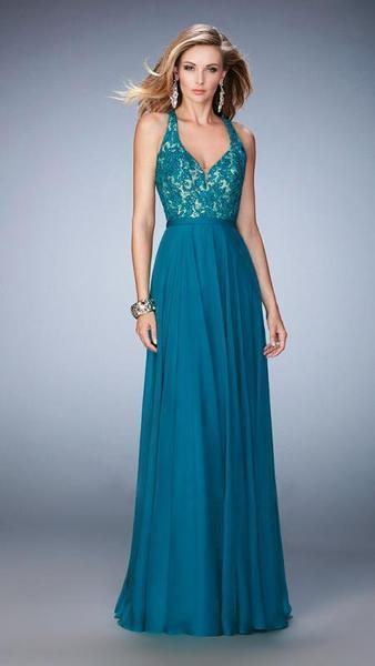 La Femme - Prom Dress 22186 In Green