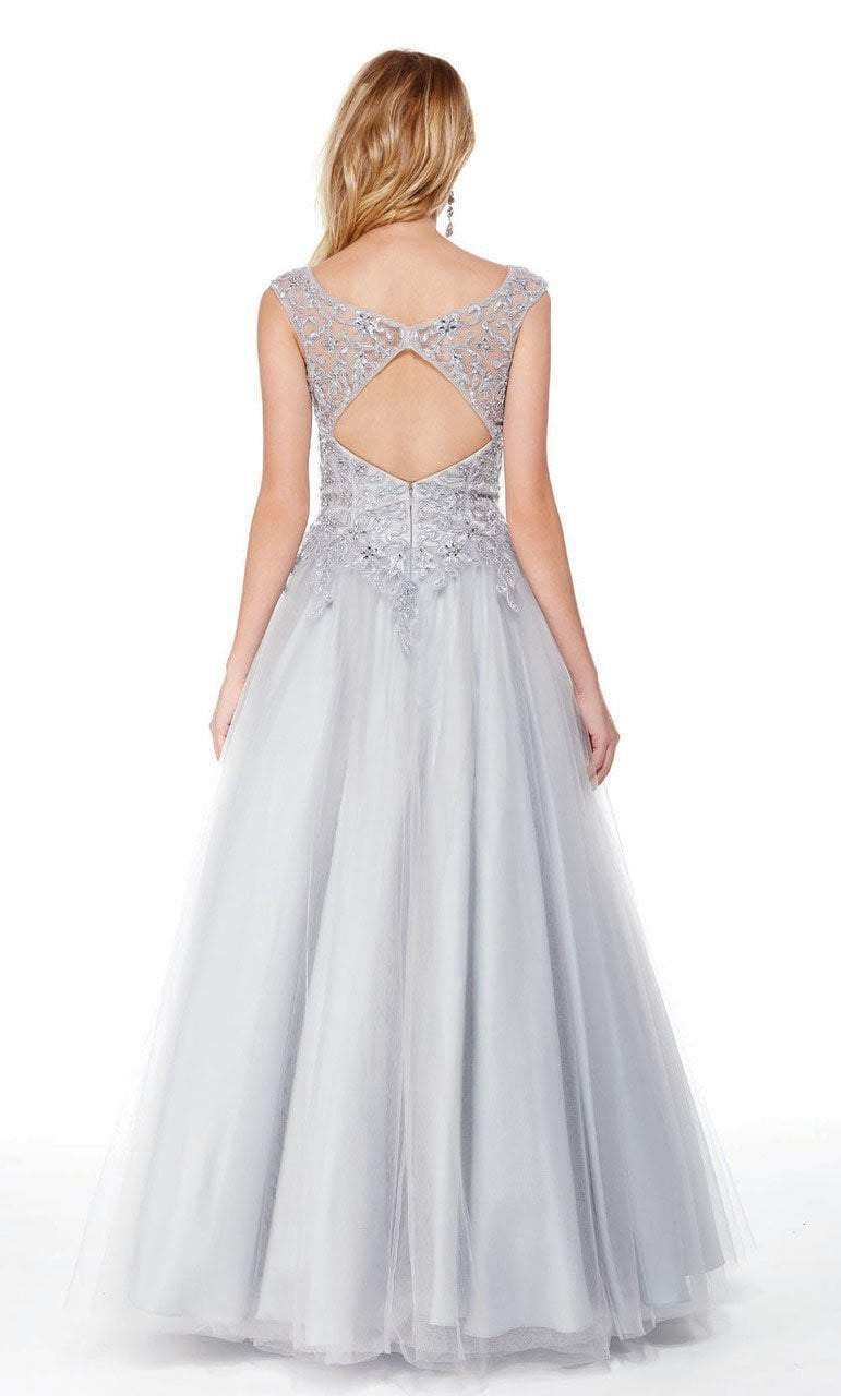 Alyce Paris - 27003 Embellished Lace Sweetheart Ballgown Special Occasion Dress