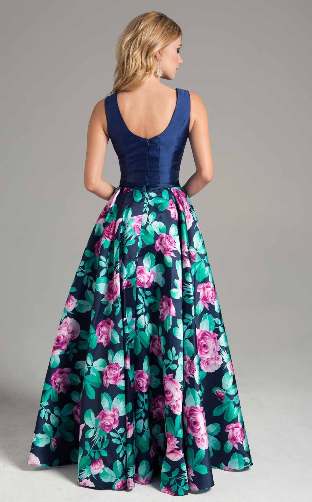 Lara Dresses - Dress In Floral Print A-line Dress 32826SC