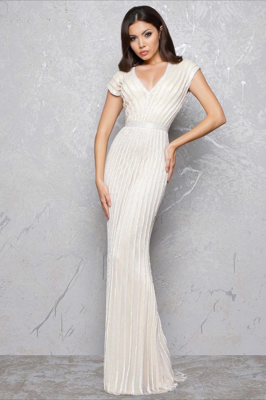 Mac Duggal - Couture Dresses Style 4431D in White