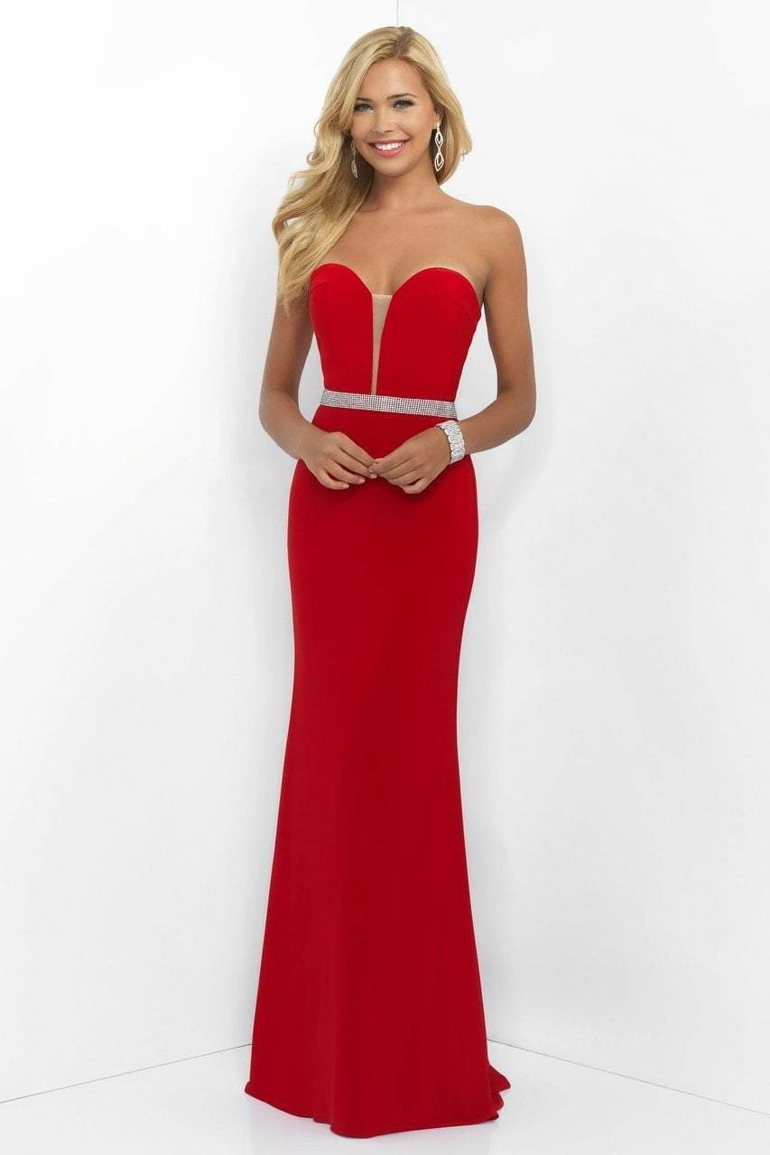 Blush by Alexia Designs - 11010 Strapless Sweetheart Gown Special Occasion Dress 0 / Valentine